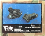 VERLINDEN PRODUCTIONS 1/35 PANZER III ENGINE AND TRANSMISSION