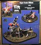 VERLINDEN PRODUCTIONS 120MM 1st Foot Guards Waterloo Post Battle