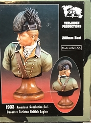 VERLINDEN PRODUCTIONS 200MM AMERICAN REVOLUTION COL. BANASTRE BRITISH LEGION