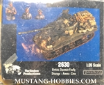 VERLINDEN PRODUCTIONS 1/35  BRITISH FIREFLY STOWAGE, AMMO, 3CREW