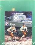 WARRIORS 1/35 U.S. INFANTRY NORMANDY (2 FIGURES)