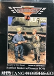 WARRIORS 1/35 RUSSIAN TANKER WITH GERMAN POW (2 FIGURES)