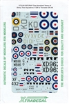 XTRADECALS 1/72 ONE HUNDRED YEARS OF SHINY TWO SQUADRON. F.2B TO TORNADO GR.4A