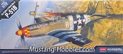 Academy 1/72  P51B Mustang Fighter