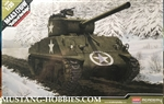 ACADEMY 1/35 M4A3(76)W US Battle of Bulge Tank