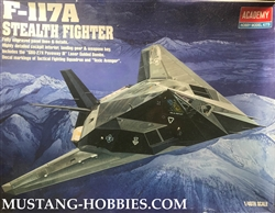 ACADEMY 1/48 Lockheed F-117A Stealth Fighter Attack-Bomber