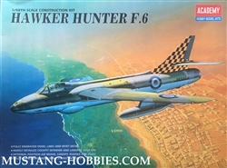 ACADEMY 1/48 Hawker Hunter F.6