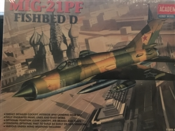 ACADEMY 1/48 MiG-21PF Fishbed D