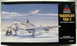 Accurate Miniatures 1/48 Yakolev Yak-1 Ski Equipped