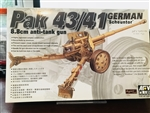 AFV CLUB 1/35  German Pak 43/41 Scheuntor 8.8cm Anti-Tank Gun