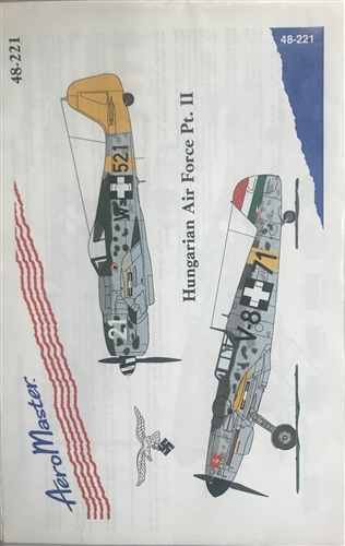 Aero Master Decals 1/48 HUNGARIAN AIR FORCE PART II