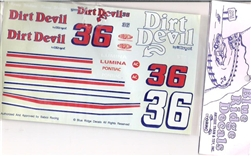 #36 Dirt Devil Lumina/Pontiac Kenny Wallace