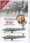 BOMBSHELL DECALS 1/48 CORSICA B-25J MITCHELL BOMBERS