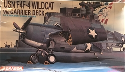 Dragon 1/72 USN F4F-4 Wildcat w/ Carrier Deck