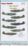 EURO DECALS 1-48 INTERNATIONAL AIRACOBRAS