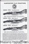 FOX ONE DECALS 1/48 GUNFIGHTERS F-4C PHANTOMS