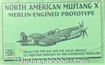 HIGH PLANES MODELS 1/72 North American Mustang X Merlin-Engined Prototype