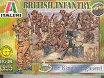 ITALERI 1/72 WW2  BRITISH INFANTRY