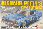 LINDBURG 1/25 Richard Petty's 1964 Belvedere Plymouth ​(NO DECALS)