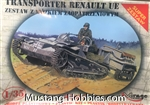MIRAGE 1/35 Transporter Renault UE With Fuel Trailer