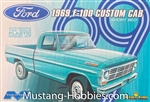 "MOEBIUS MODELS 1/25 1969 Ford F-100 Custom Cab ""Model King"" Short Bed"