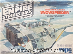 MPC Star Wars The Empire Strikes Back Luke Skywalker's Snowspeeder