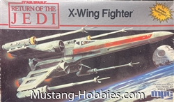 MPC 1/43 Star Wars Return of the Jedi x-wing fighter