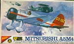 NICHIMO 1/72 Mitsubishi A5M4 Japanese Navy Carrier Fighter
