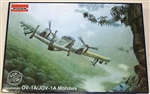 RODEN 1/48 OV1A/JOV1A Mohawk Vietnam/Later era Armed Observation & Intelligence USAAF Aircraft