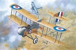 RODEN  1/32  Airco DeHavilland DH2 WWI British Biplane Fighter