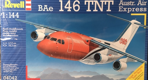 REVELL GERMANY 1/144 BAe 146 TNT Austr  Air Express