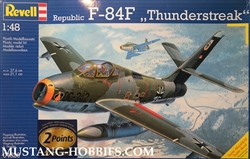 "REVELL GERMANY 1/48 Republic F-84F ""Thunderstreak"""
