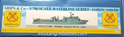 SHIPS AND CO 1/700 USS WHIDBEY ISLAND LSD 41- CLASS