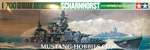 Tamiya 1/700 German Scharnhorst Battleship Waterline