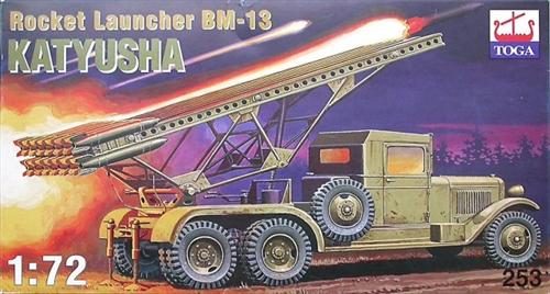 TOGO 1/72 BM-13 Katyusha ROCKET LAUNCHER