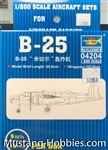 TRUMPERTER 1/200 B25 Mitchell Aircraft