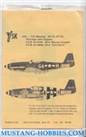 Aviation USK 1/48 P-51 362 FS, 357FG MISSOURI ARMADA, U,VE HAD IT