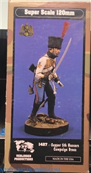 VERLINDEN PRODUCTIONS 120mm SAPPER 5TH HUSSARS CAMPAIGN DRESS