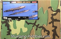 VERLINDEN PRODUCTIONS 1/35 Submarine Hunley C.S.S. Confederate Mini-Sub