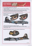 WARBIRDS DECALS 1/48 B17 Betty Boop, Pistol Packin Mama & B17G Pist'l Packing Mama
