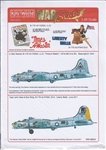 WARBIRDS DECALS 1/48 B17G Times a Wastin, Liberty Belle