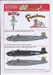 WARBIRDS DECALS 1/48 B25H Powerhouse, Dutch