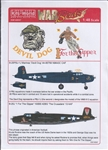 WARBIRDS DECALS 1/48  B25J Devil Dog, 1 For the Gipper